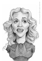 Madonna Caricature Sketch by StDamos
