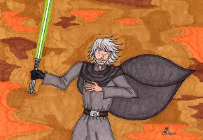 Luke Is Back In Action by RainbowFay