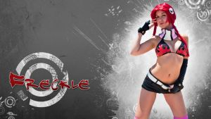 Freckle's Yoko wallpaper by CosplayDeviants