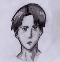 Levi Rivaille sketch by FireToRain