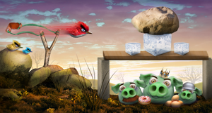 Angry Birds by D3RX