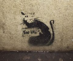 My first Banksy by grthink