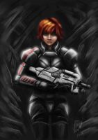 FemaleShepard by VerdRage
