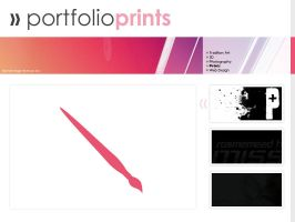 Portfolio Layout by ninkn