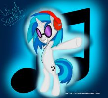 Vinyl Scratch by Pakato3