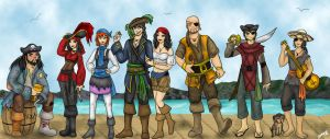 Captain Niek's Crew by Captain-Savvy