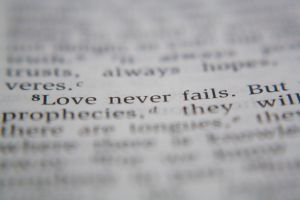 Love Never Fails by A-Glass-Brightly