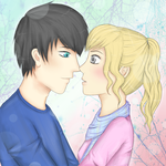 Percy and Annabeth by Rhaylee
