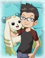 Me And Terrier by Deco-kun