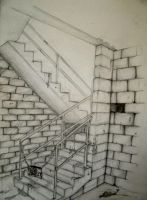 Perspective stairs by morgoththeone