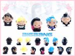 Big Bang Charms by FlyingPandaGirl