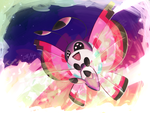 Vivillon used Sleep Powder ! by GrumpyBuneary