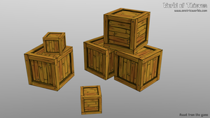C for Crates - Blender Month by Matou31