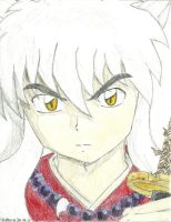 InuYasha colored by brittany4231