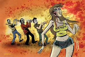 Zombie Shakers by sayunclecomics