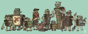 Boxtrolls Crossover by Olive-Owl