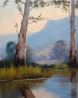 Valley Gums Australia by artsaus