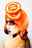Pop Art: Orange by BeccyBex