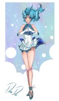 Sailor Neptune - New outfit Redesign by DeaDia89