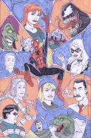 Spidey 2012 print by shinlyle