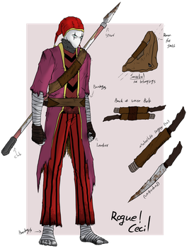 [Crimson Circus] Rogue!Cecil by ChesterPalm