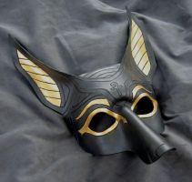 Anubis Mask by MummersCat