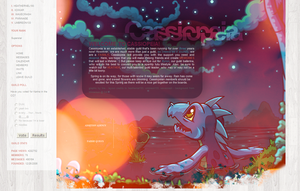 First Neopets Layout by instructively