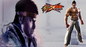 Street Fighter vs Tekken 2 by fightersnetwork