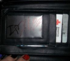 My Wallet Signed By Dahvie by AlysonRoseEcstacy