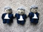 12th Doctor Mini Amigurumi by the-carolyn-michelle