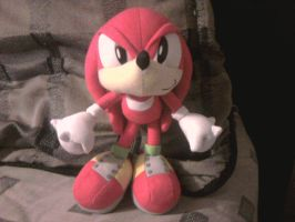 Knuckles Plush Toy by sonicfan40