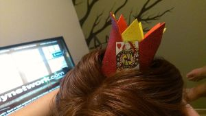 My queen of hearts crown by jelc85