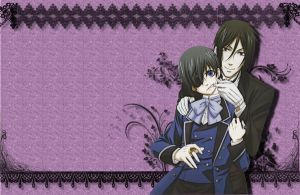 Wallpaper Black Butler __  Kuroshitsuji by Kimi-Thunder