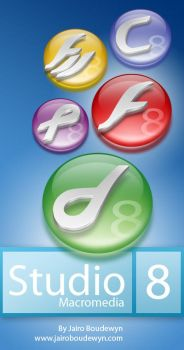 Macromedia Studio 8 Icons by weboso
