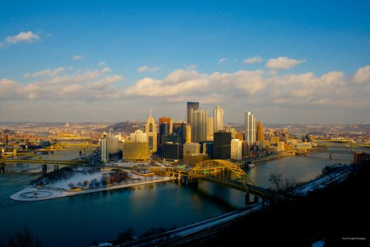 The city of Pittsburgh by Devo5676