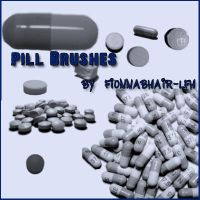 Brushset: Pill Brushes by ivelt-resources
