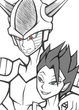 Frost And Cabba by AlexR19