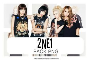 2ne1[pack Png] by Beliebervip
