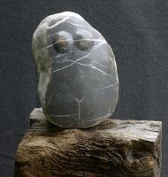 female gravel boulder by gecko-online