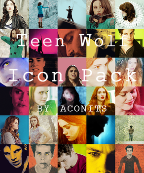 Teen Wolf  Icon Pack - ACONITS by VMari