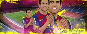 Fabregas Vector sign by gaz3r