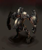 Shortlegs punchbot by zgul-osr1113
