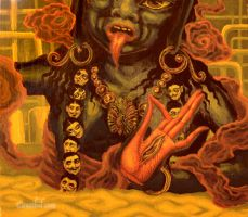 kali at bhopal india by cannibol