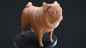 Pug Rerendered by ChimicalCorp