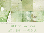 20 icon textures - belize (set#14) by larmay