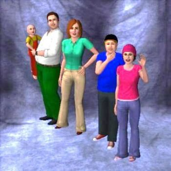 The Griffins on Sims 3 by Mikeyfan93