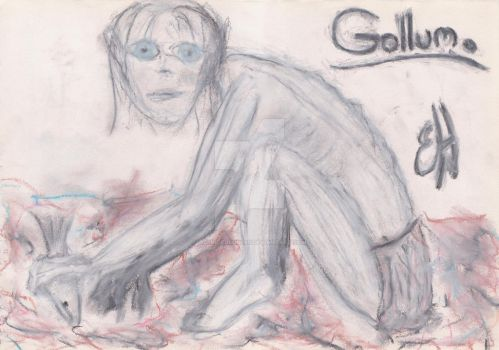 'Gollum' Large by WoundedSoul99