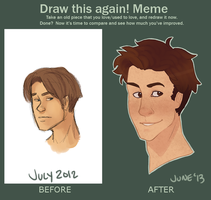 One Year's Improvement by Lydiamay