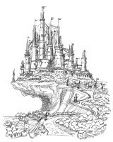 Castle Concept by ADMIRE-GD