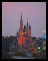 Cinderella's Castle by KellyManaghan